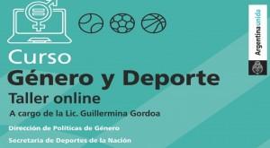 Ya están abiertas las inscripciones para la capacitación en género y deportes