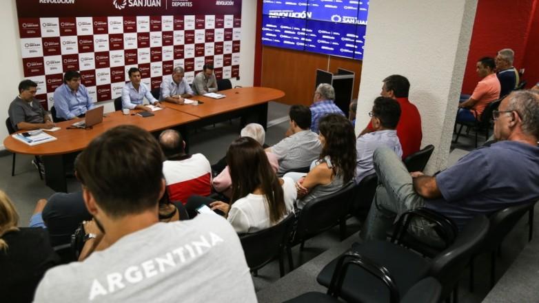 Coronavirus: importante reunión entre Deportes y las federaciones de San Juan