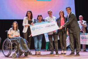 La responsable de un merendero obtuvo el premio Sanjuanino Solidario