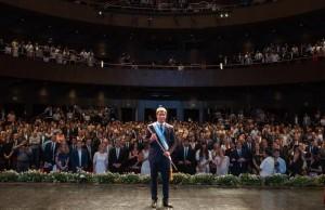 Sergio Uñac asumió su segundo gobierno redoblando la apuesta por un mayor crecimiento