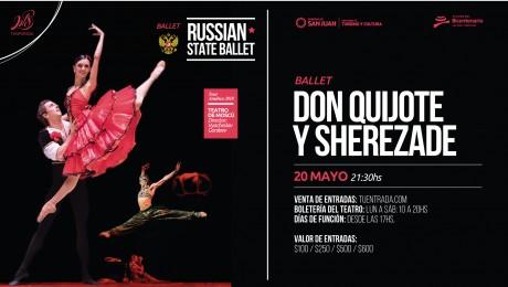 El Ballet Ruso llega al Teatro del Bicentenario para emocionar