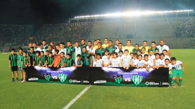 Sportivo Desamparados se quedó con el clásico sanjuanino