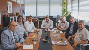 El ministro de Obras recibió a su par de Infraestructura y Planificación de Mendoza