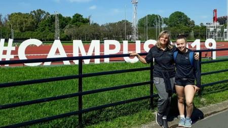 Sofía Toibero Amicarelli, la pequeña atleta que sigue sus sueños