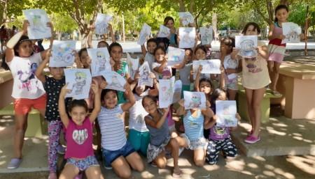 El Programa Incluirte se trasladó a las Colonias de Verano para dictar talleres