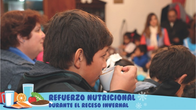 Comedores escolares: se extiende el refuerzo nutricional durante el receso invernal