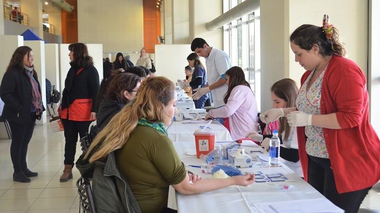 Más de 750 personas se hicieron el test de VIH en el Centro Cívico