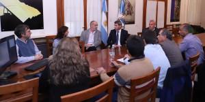 Presentaron a Sergio Uñac nuevas metodologías en infraestructura