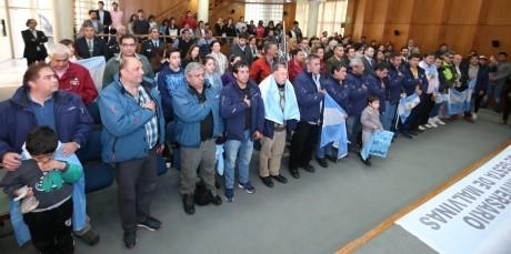 Llegó a San Juan la delegación de ex combatientes de Malvinas