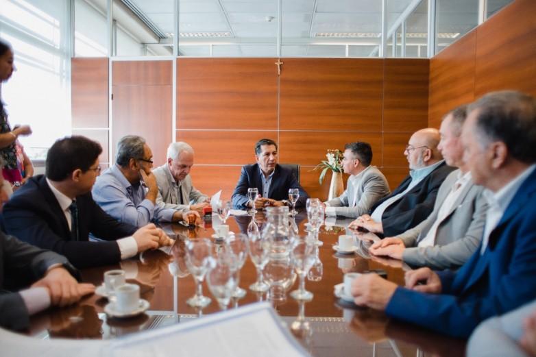 Desarrollo Humano firmó convenios de abordajes con todos los municipios