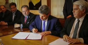 San Juan firmó un convenio con la Cámara de Comercio Argentino Israelí para fortalecer lazos comerciales