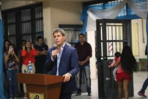 """Imponen el nombre de """"Intendente Joaquín Uñac"""" a una escuela de capacitación laboral de Pocito"""