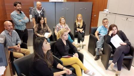 La Dirección de Cooperativas se capacitó en trámites online con la Nación