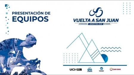 En vivo: presentación oficial de equipos de la Vuelta a San Juan 2020