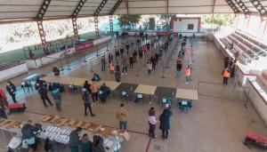 Culminaron los operativos de Tarjetas AlimentAR en Rivadavia, Sarmiento y Angaco