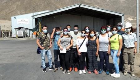 Los emprendedores sociales visitaron el Parque Tecnológico Ambiental