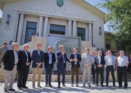 Katopodis puso en funciones a Jorge Deiana al frente de Vialidad Nacional San Juan