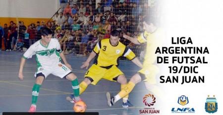 Se define el campeón de la Liga Nacional de Futsal: miralo en vivo