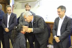 Abordaje Territorial: Vecinos de Capital y Rivadavia recibieron sus anteojos