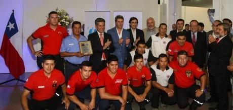 Una gala de sabores con reconocimiento de Coquimbo a bomberos de San Juan
