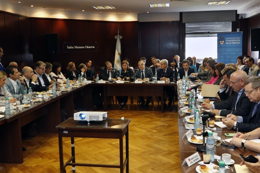 San Juan participó activamente del segundo encuentro del Consejo Federal de Salud