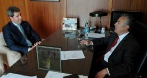 Reunión con el Gobernador de Mendoza