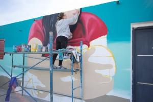 Vallecito vivió una transformación artística con la FNS