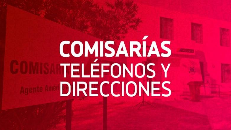 La seguridad es tarea de todos: teléfonos y dirección de comisarías de San Juan
