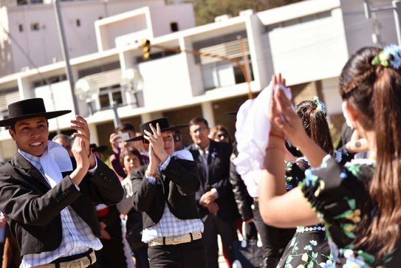 Acto oficial por el aniversario de la Primera Junta chilena