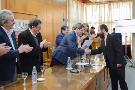Entregaron el Premio Domingo F. Sarmiento a las doce mejores tesis universitarias