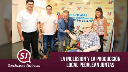 La inclusión y la producción local pedalean juntas | #SanJuanEnNoticias