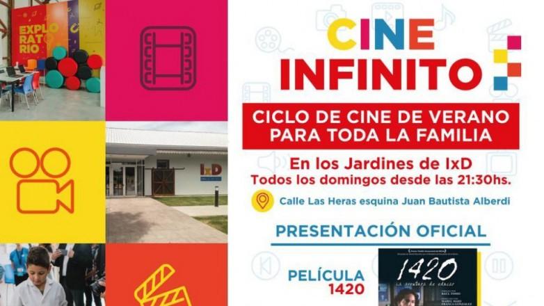 Infinito x Descubrir inaugura un ciclo de cine gratuito