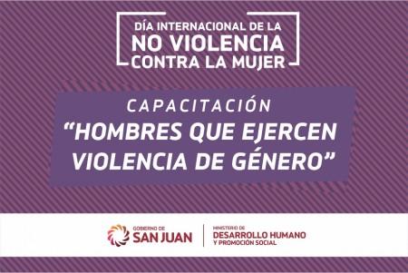 Capacitarán a equipos de Mujer sobre 'hombres que ejercen violencia de género'