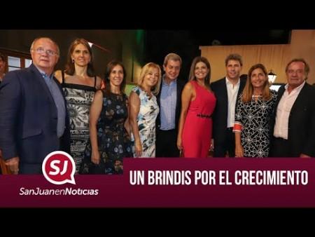 Un brindis por el crecimiento | #SanJuanEnNoticias