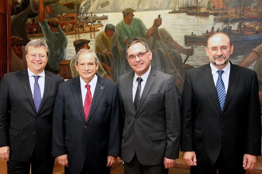 El ministro de Salud provincial se reunió con su par nacional