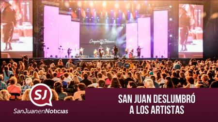 San Juan deslumbró a los artistas | #SanJuanEnNoticias