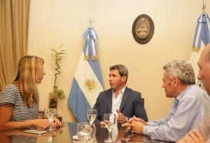 Uñac se reunió con la secretaria de Infraestructura Urbana de la Nación