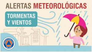 Alerta meteorológica Nº 8/19 - Viento y tormentas fuertes