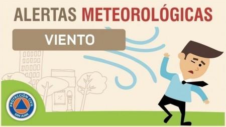 Alerta meteorológica N°04/20 - Viento sur y tormentas aisladas