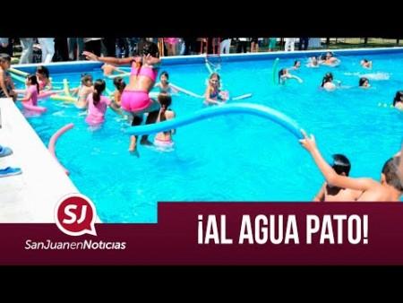 Al agua pato | #SanJuanEnNoticias