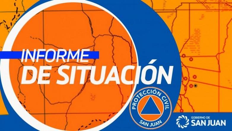 Sismo en San Juan - Informe preliminar de situación - 14/09/2019