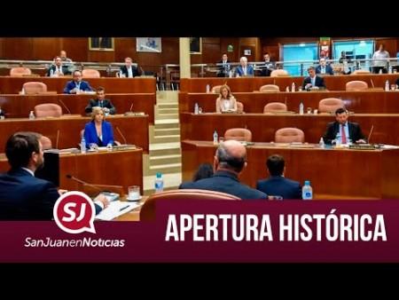 Apertura histórica| #SanJuanEnNoticias