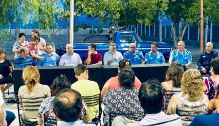 Comenzaron los foros de Seguridad en San Martín