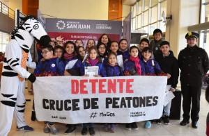 Casi 1.000 niños participaron en la Expo Seguridad Vial