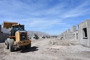 Avanza la ejecución del Barrio Villa Esperanza en Zonda
