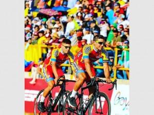 San Juan tuvo su representación en el Tour a Colombia
