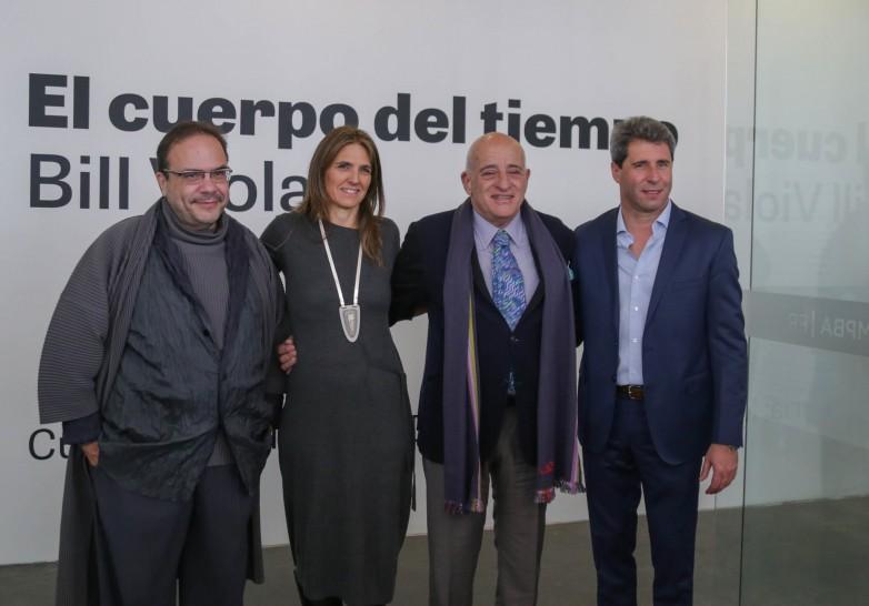 Uñac presentó oficialmente la muestra del distinguido artista estadounidense Bill Viola