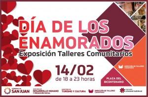 Feria de Talleres Comunitarios para festejar el Día de los Enamorados