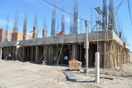 Avanza el nuevo edificio donde funcionará la Secretaría de Gestión Ambiental y Control Minero