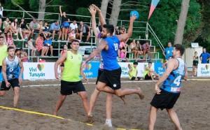 Dos medallas de plata en el beach handball
